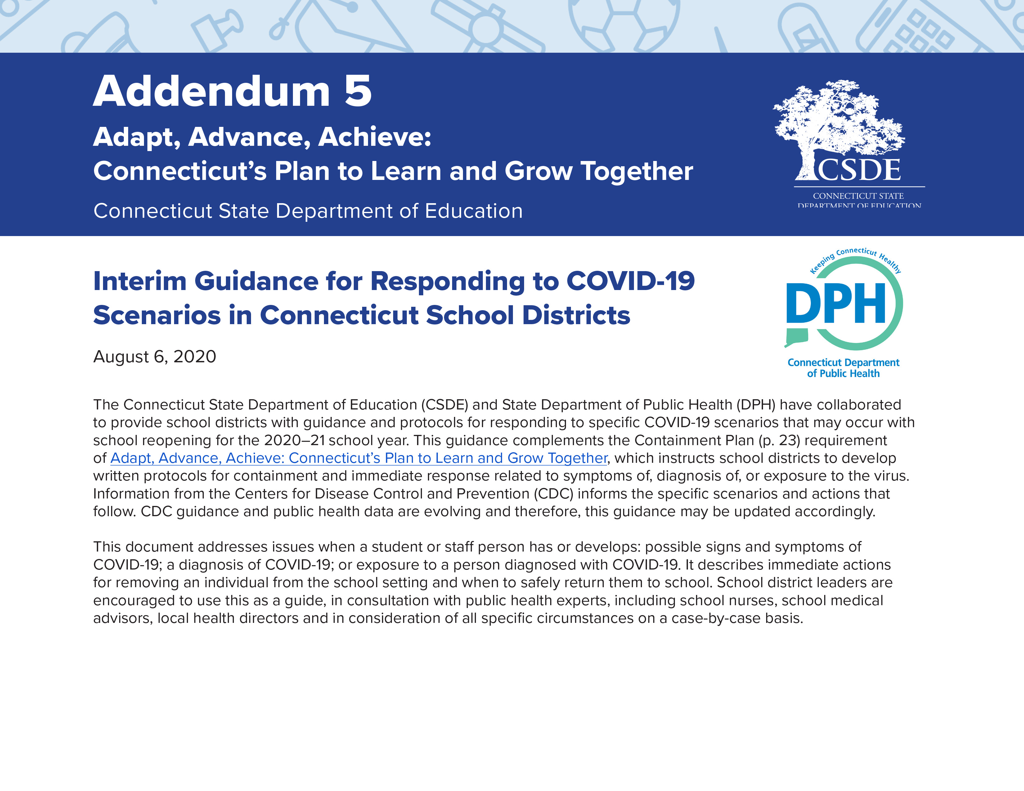 Addendum-5-Interim-Guidance-for-Responding-to-COVID-19-Scenarios-in-CT-School-Districts